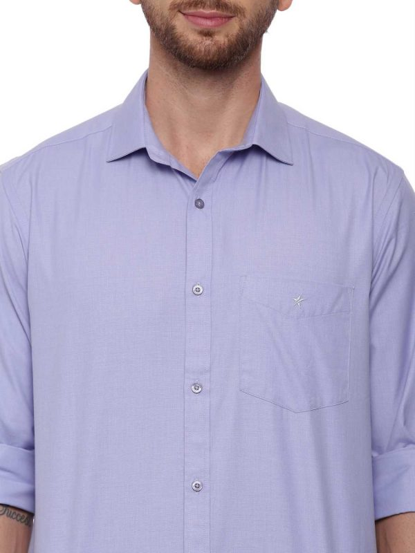 Croydon UK Light Blue Formal Regular Shirt