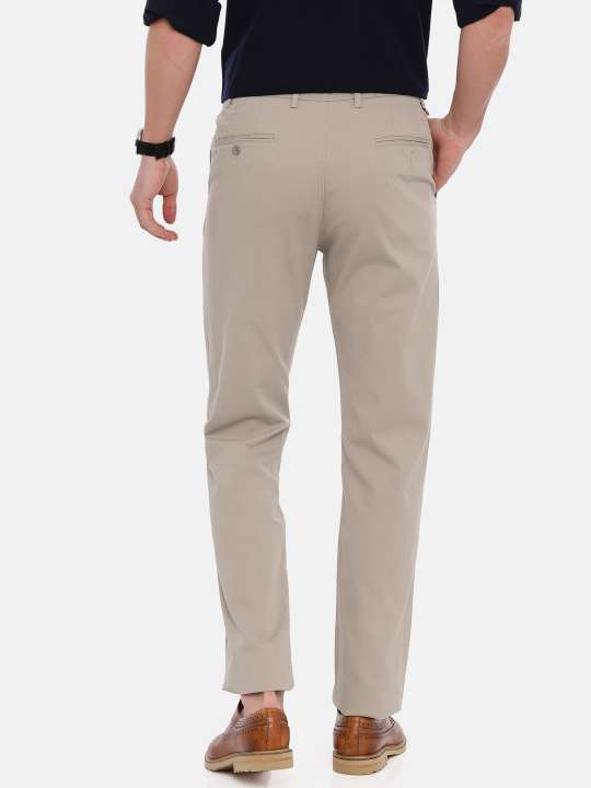 Croydon UK Grey Tapered Tailored Fit Chinos Trouser