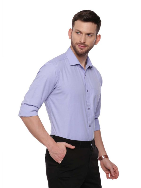 Light Blue Formal Regular Shirt