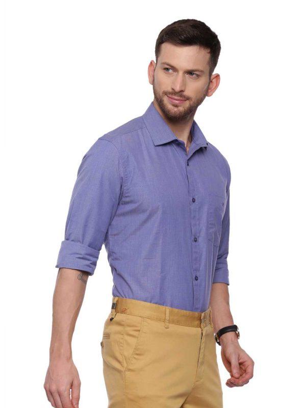 Blue Formal Regular Shirt